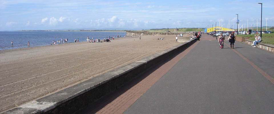 Prestwick Beach north side image