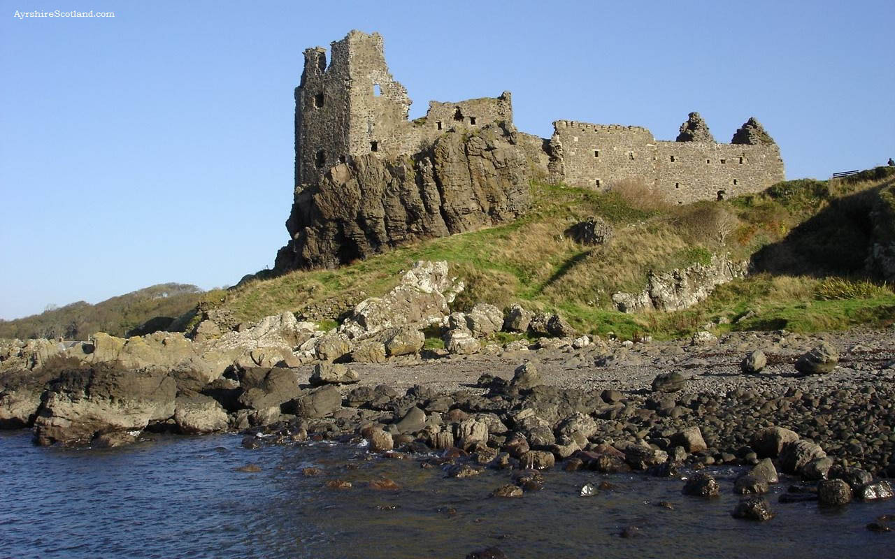 What Is The Name Of The Half Ruined Castle Or Fortress