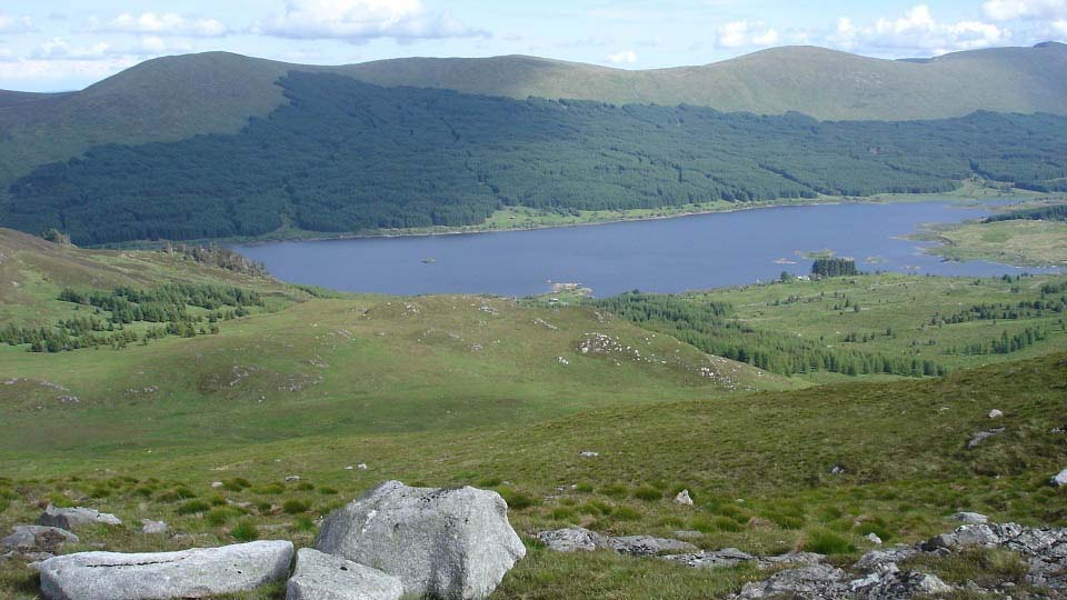 Craiglee Hill view to Loch Doon