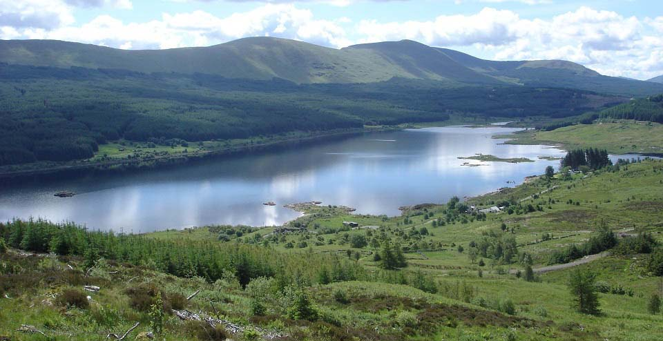 Loch Doon from Wee Hill of Craigmulloch