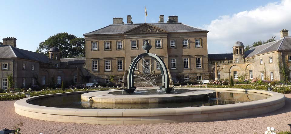 Dumfries House fountain image