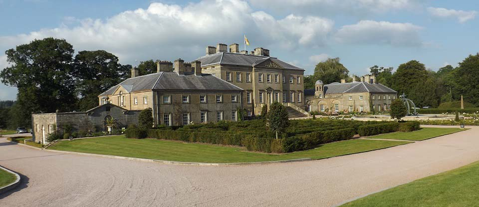 Dumfries House front image