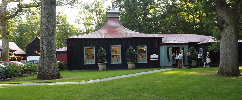 Dumfries House woodland restaurant image