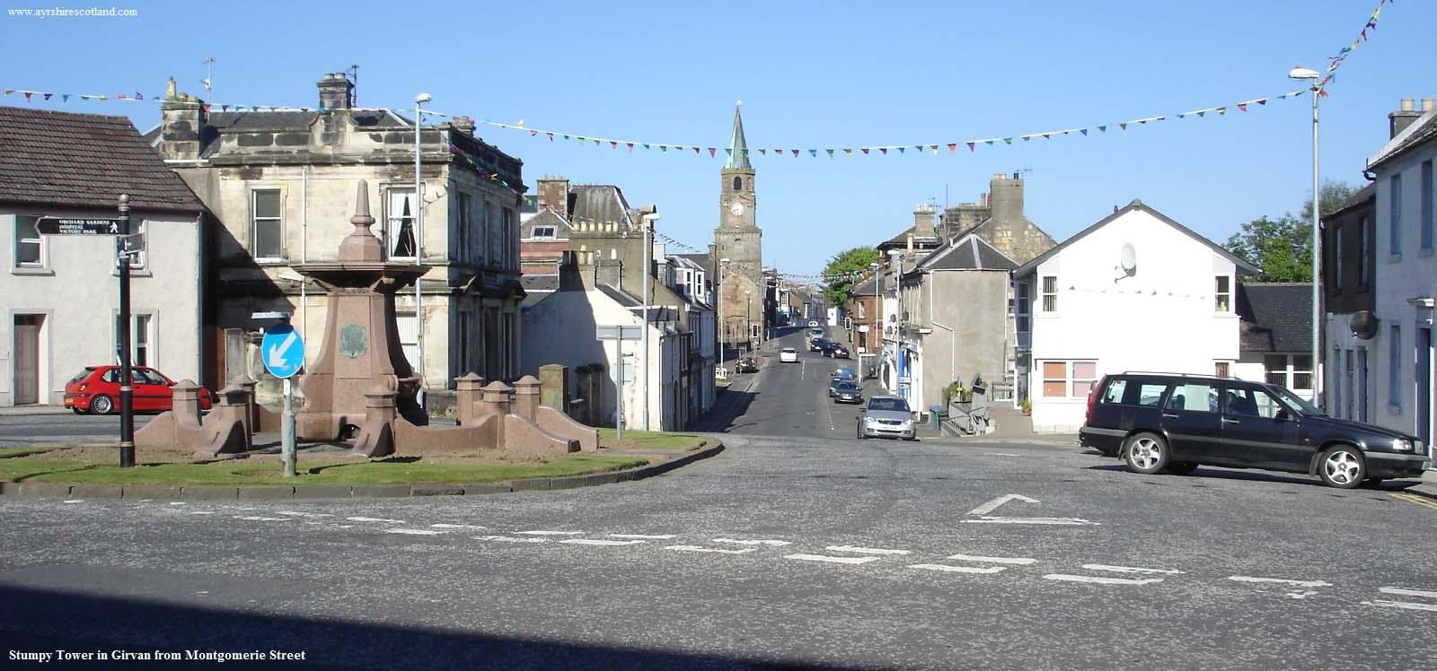 Stumpy Tower, Girvan, Ayrshire Old scotland Pinterest