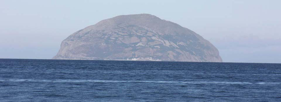 Ailsa Crag from Firth of Clyde image