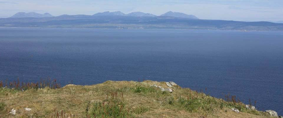 View from Ailsa Craig to Arran image