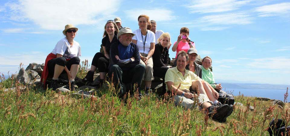 Ailsa Craig Summit tour party image