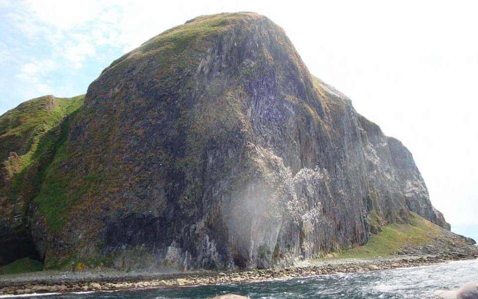 Ailsa Craig Close Up image