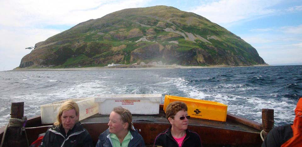 Ailsa Craig from Tour Boat on return image