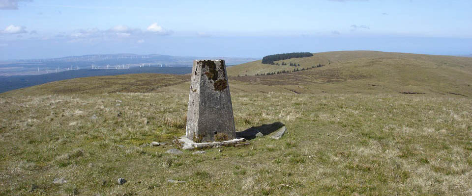 Craigenreoch Hill summit image