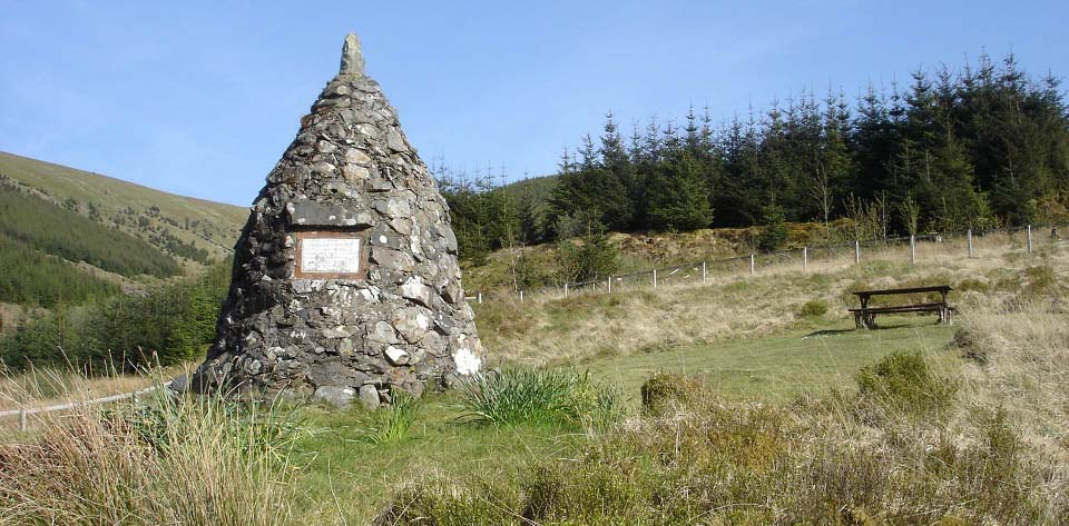 Kirsties Cairn on the Changue Trail image
