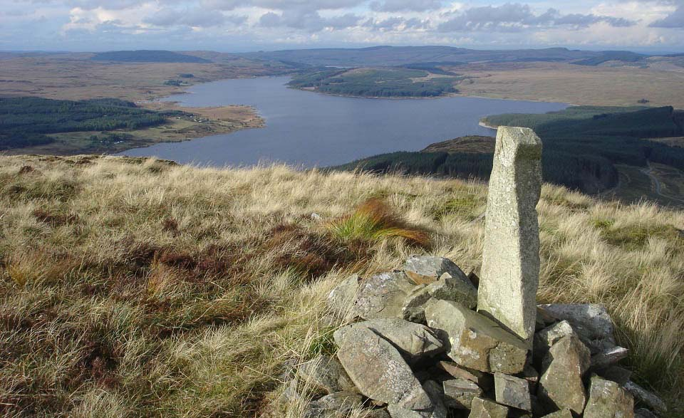 Black Craig hill summit image