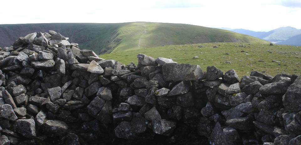 Calin's Cairn view south to Corserine