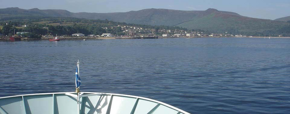 Brodick from the Ferry image