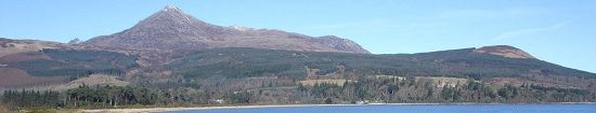 Ayrshire Walking Goat Fell Isle of Arran image