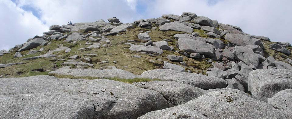 Goat Fell top section image