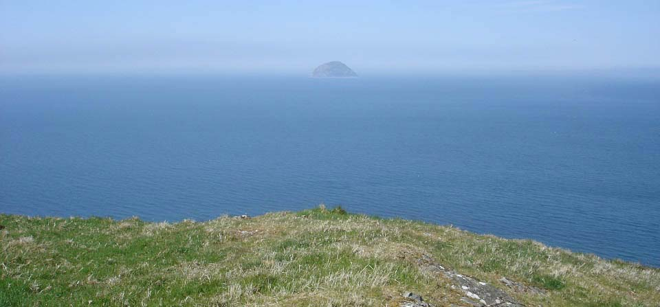 Ailsa Craig from Lendalfoot Hill image