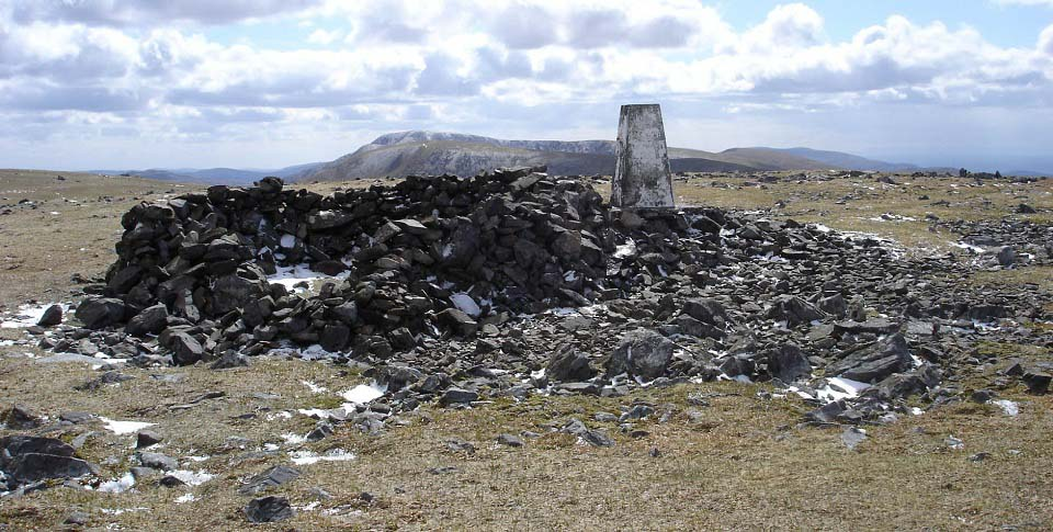 Shalloch-on-Minnoch Trig Point